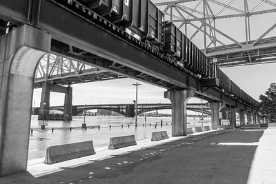 Saint Louis Riverfront:  Flood  Spring 2019