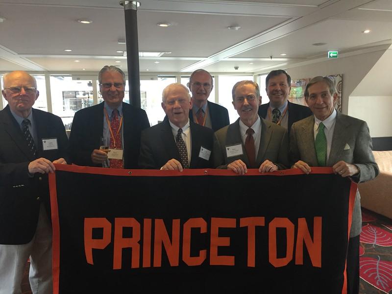 Group with Princeton Banner - Bridget St. Clair