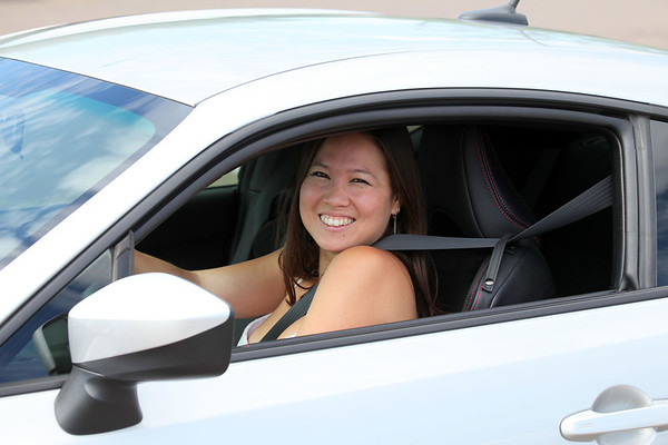 Angie's new Car: Aug 2013