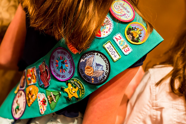 Knoxville 2015 Girl Scouts Gold and Silver Awards