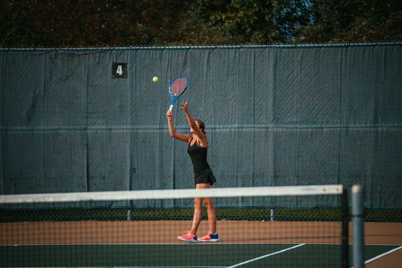 Holy Family Girls Tennis vs. Providence Academy, 9/24/19