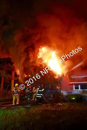 2 Alarm Structure Fire - 138 Rocky Hill Rd, Smithfield, RI - 9/5/16