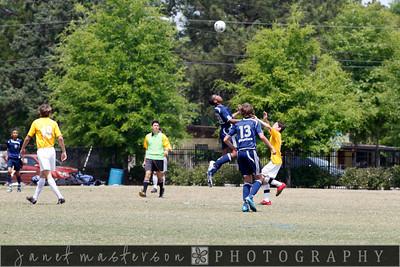 just added - WSC Premier Soccer U14 Eagles 4-17-10