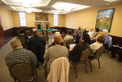 Senior Ministry Fellowship with Tasso Spanos - March 20, 2014