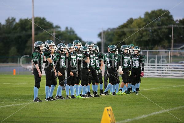 Waterford 8th Grade Civil War Football Game 9/21/13
