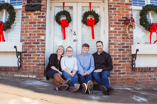 {Christmas Mini Session} McBride Family