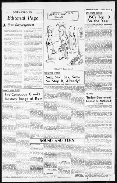 Daily Trojan, Vol. 55, No. 117, May 13, 1964