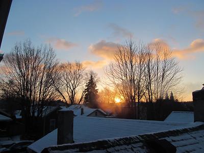 Sunrises and Sunsets 2014