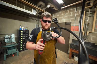 2017 UWL Metalsmith Travis Trzecinski Restoration