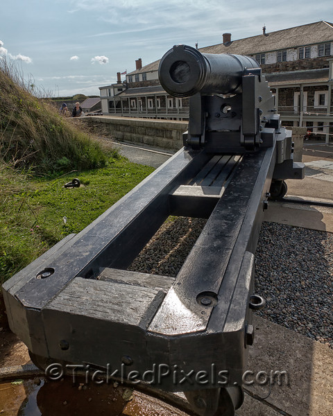 Cannon at Fort George