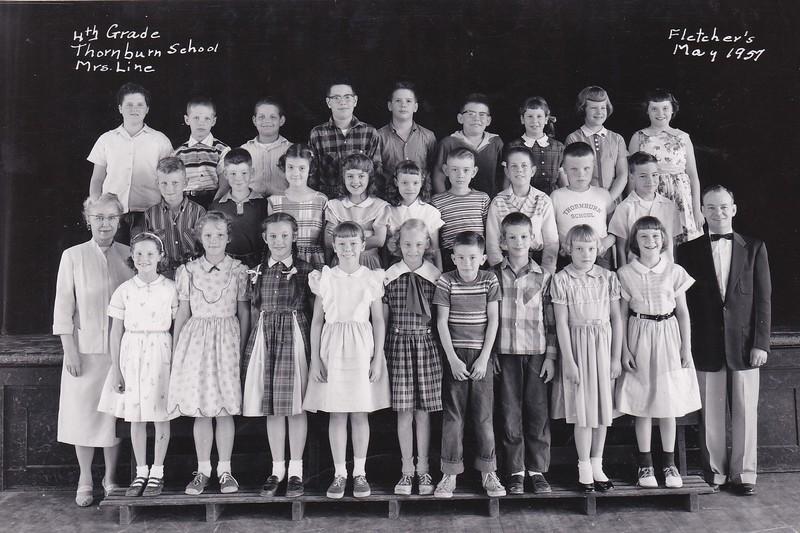 Thornburn 4th Grade Line