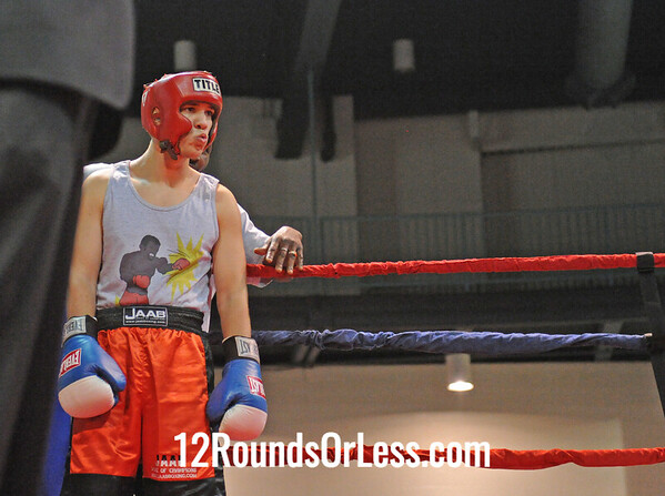 Laqwan Flores (Southside B.C.) be Charles Nest (Downtown B.C.)  178 Pound-Novice  Bout # 11