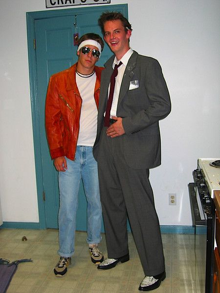 Brian and Luke in 80s attire.JPG