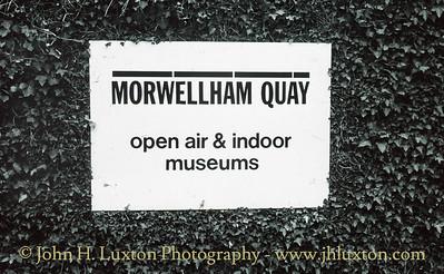 Morwellham Quay 1970s to 1990s
