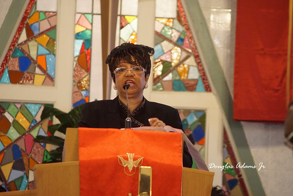 Evangelist Adams/ Dr Johnson Palm Sunday 2015