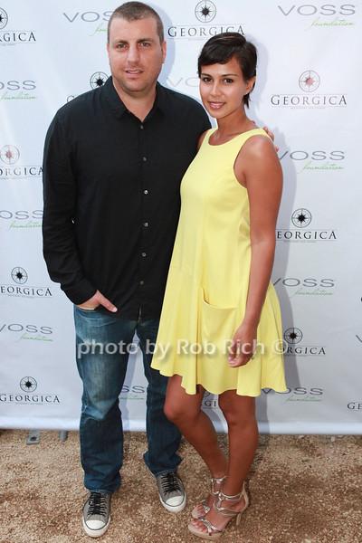 Rob Stone, Lauren Gonzales at Georgica photo by A.Isadora for Rob Rich/SocietyAllure.com © 2013 robwayne1@aol.com 516-676-3939