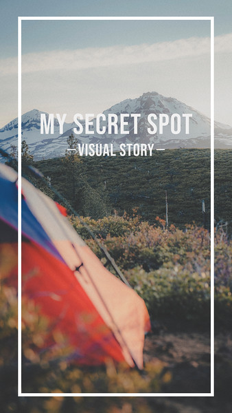 My Secret Spot Visual Story