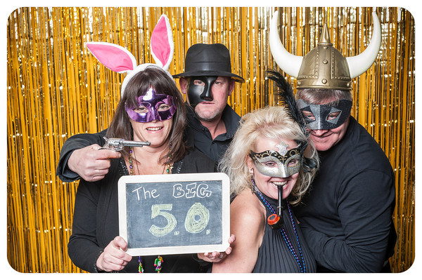 Frank's 50th Birthday Photobooth