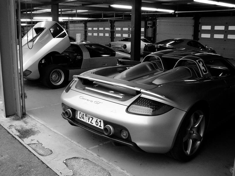 Isdera Imperator 108i & Carrera GT at Spa