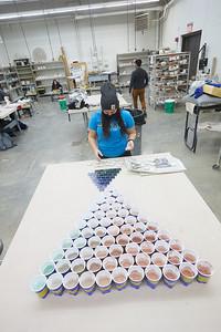 2020 UWL Art Ceramics Wood Fired Kiln