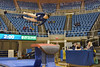 MORGANTOWN, WV - MARCH 8: Penn State gymnast Briannah Tsang competes on vault during a dual meet March 8, 2015 in Morgantown, WV.