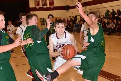 AMHS JV Boys Basketball vs WR photos by Gary Baker