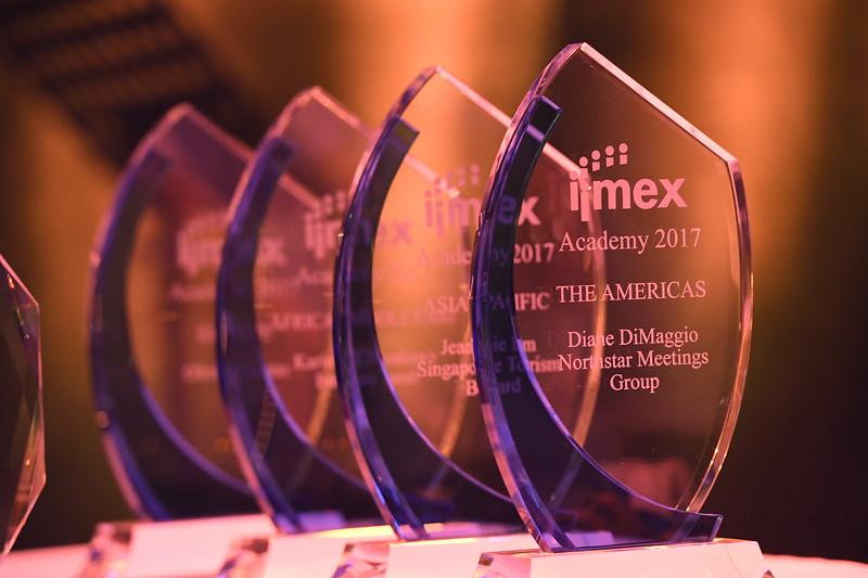 Shiny Academy Awards at the IMEX Gala Dinner