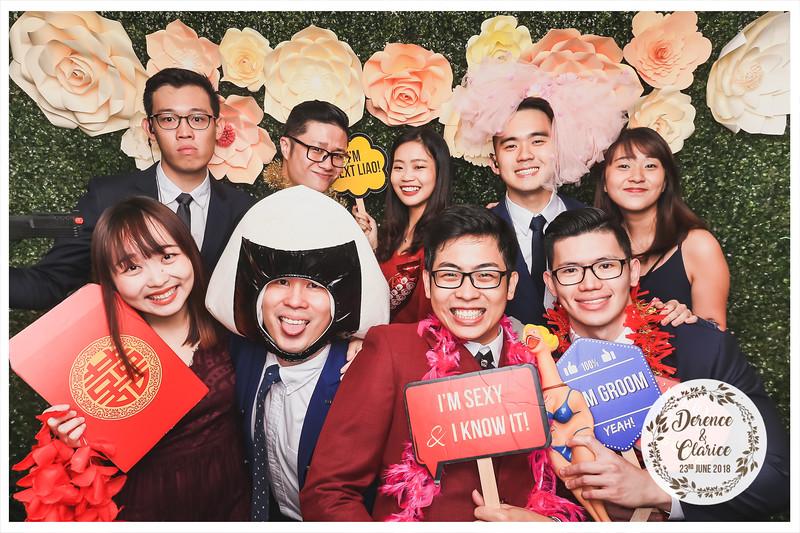 Wedding of Derence & Clarice | © www.SRSLYPhotobooth.sg