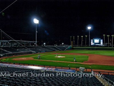 Night Game - Indians v Reds