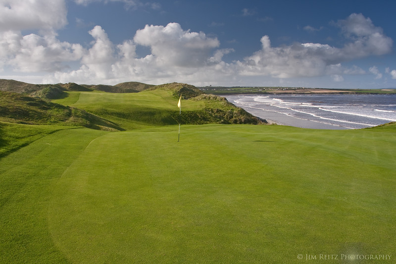 Seaside view from the Ballybunion Cashen course (newer Robert Trent Jones course, next to the Old Course).