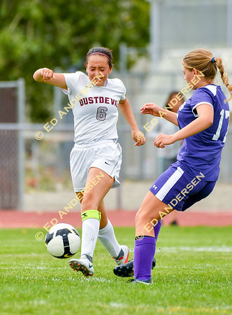 September 28, 2018; Dayton vs. Yerington, Varsity Girls Soccer