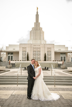 Stephanie and Kyle - Temple pictures