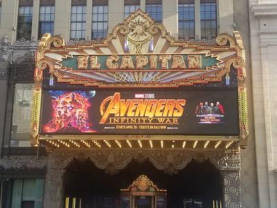 El Capitan Theatre - Avengers: Infinity War