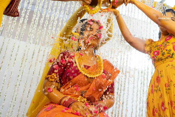 Bride Mangalsnanam