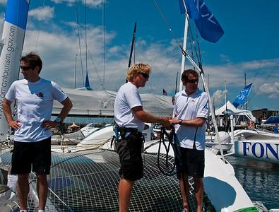 Krys Ocean Race Newport Start