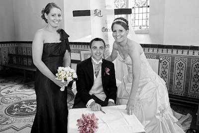 John and Dee wedding