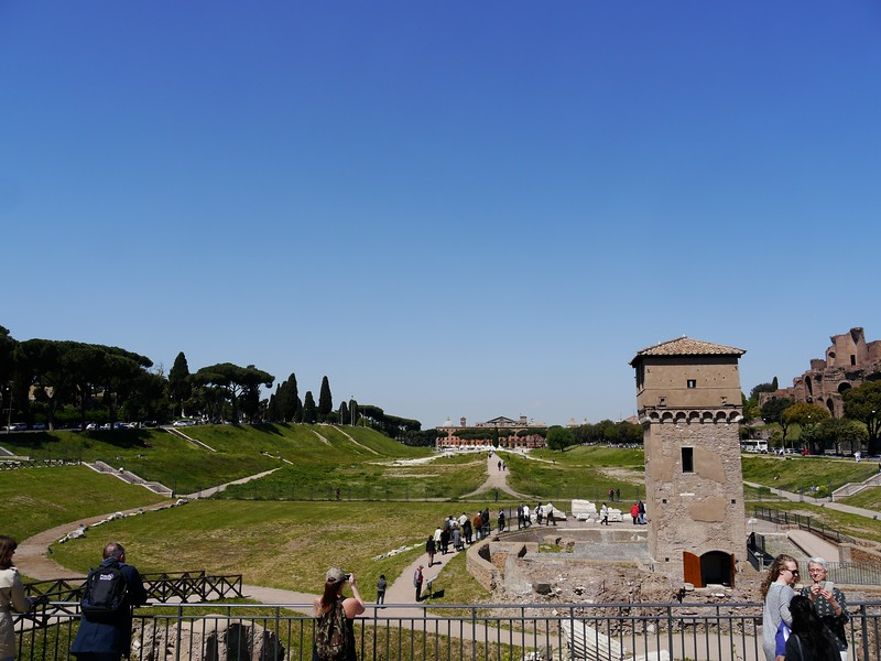 Circus Maximus (chariot race track).
