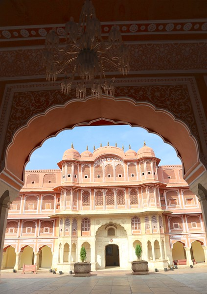 Chandra Mahal at City Palace - Jaipur