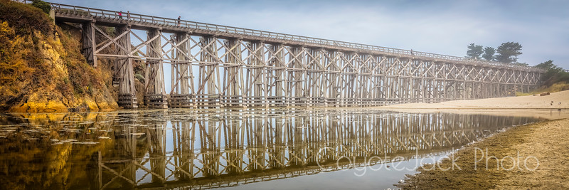 Pudding Creek Trestle Bridge