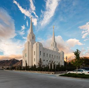 Brigham City Temple & Tabernacle September 11, 2013
