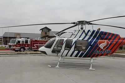 CareFlite 4 makes a PR visit to Prosper Texas. 12/10/16