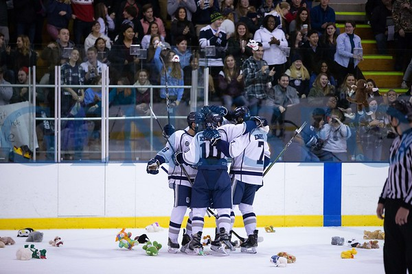 Ice Hockey vs. Brockport (Teddy Bear Toss)