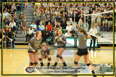 2016 11 12 CHS volleyball AAA championship