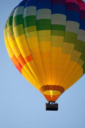 Ballooning in Napa