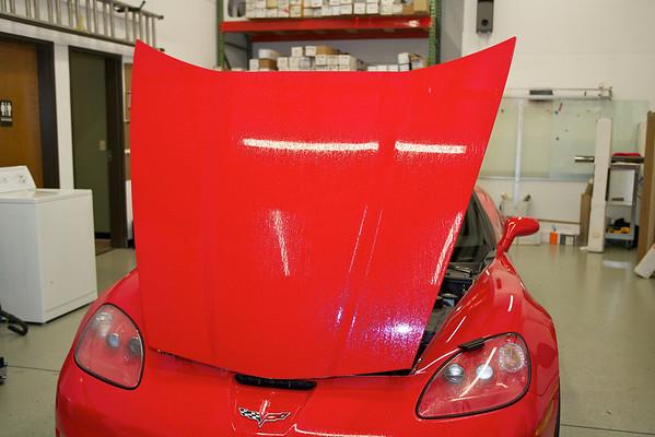 2010 Chevy Red Corvette Grand Sport Conv