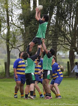 jm20120906 Rugby U15 - Wainui v St Bernards _MG_3305 b