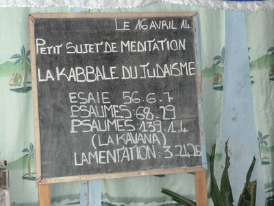 Sprouting Judaism in Gabon