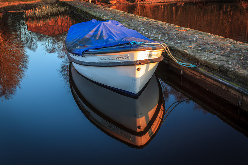 Inchmahome Priory Boat - 8821