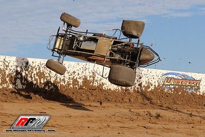 Weedsport Speedway USAC Sprints - 6/19/18 - Michael Fry