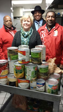 2014 Kappa Kan Food Drive at Project Host